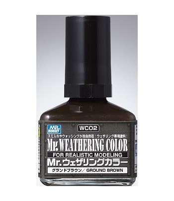 WC02 Смывка MR.WEATHERING COLOR 40 мл GUNZE SANGYO
