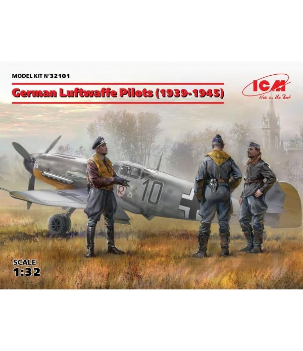 Фигуры, Пилоты Люфтваффе (1939-1945 г.) ICM 32101