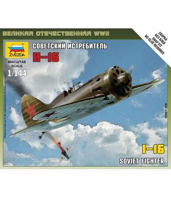 Советский истребитель И-16 ЗВЕЗДА 6254