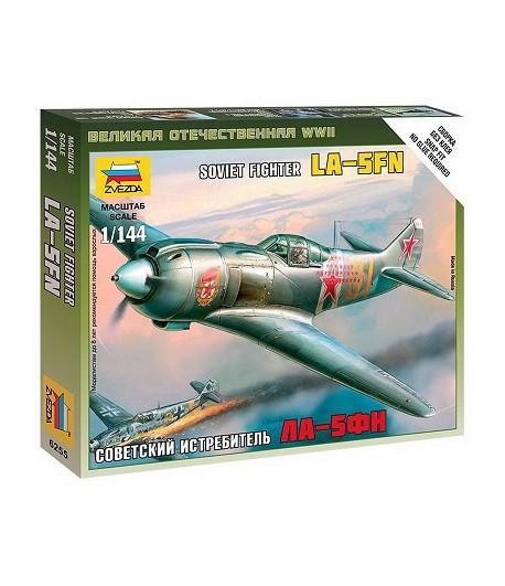 Советский истребитель Ла-5ФН ЗВЕЗДА 6255