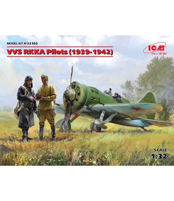 Фигуры, Пилоты ВВС РККА (1939-1942) ICM 32102
