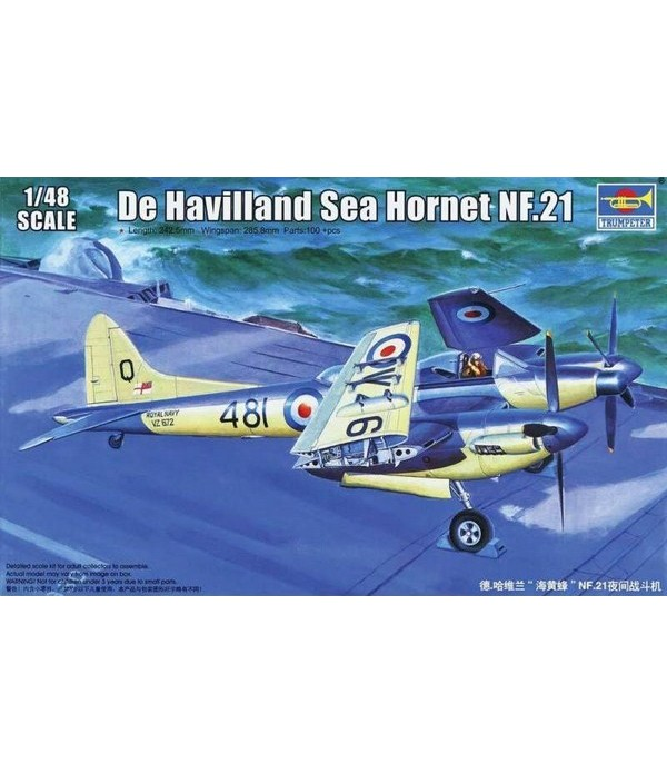 De Havilland Sea Hornet NF.21 TRUMPETER 02895