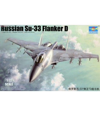 Russian Su-33 Flanker D TRUMPETER 01667