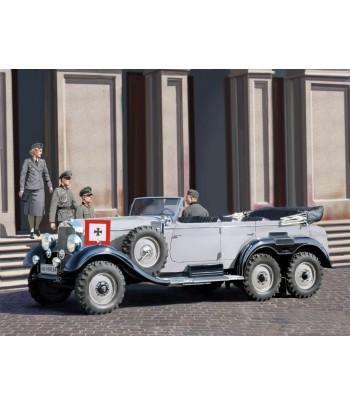 Германский автомобиль G4 (1939) с пассажирами ICM 35531