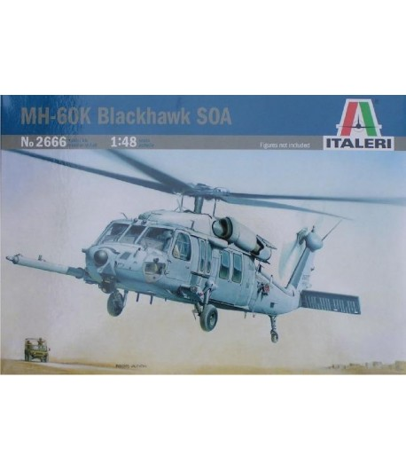 MH-60K Blackhawk SOA ITALERI 2666