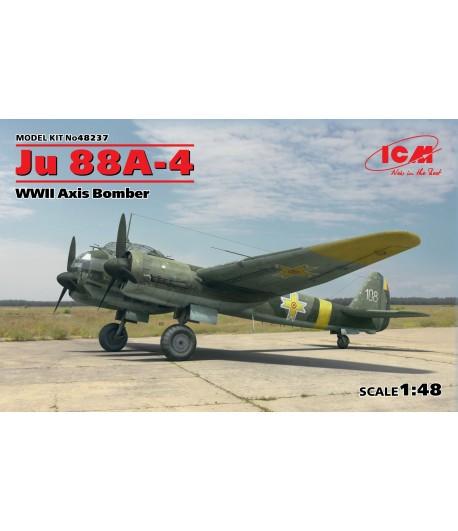 Бомбардировщик стран Оси ІІ МB, Ju 88A-4, ICM 48237