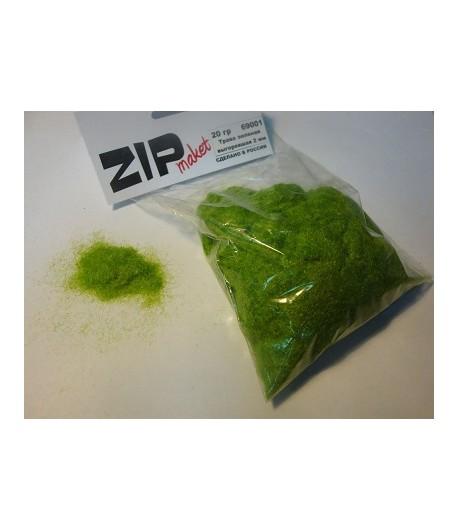 Трава зеленая выгоревшая 2 мм, 20 грамм ZIP-maket 69001